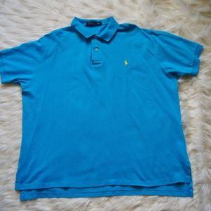 Ralph Lauren Men's Polo Shirt XXL Short Sleeve